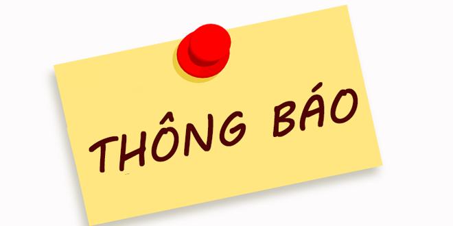 Thông báo thời gian nghỉ tết nguyên đán năm Tân Sửu 2021 của học sinh sinh viên
